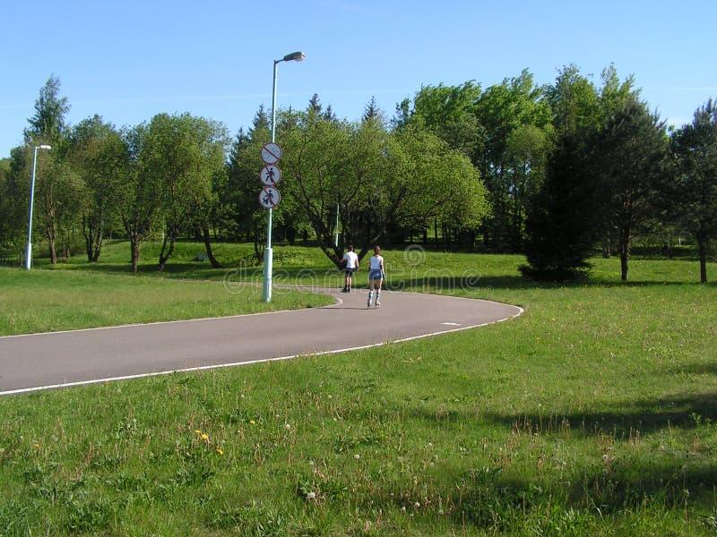 52 Forest Park ?DROZDY ?? Minsk Belarus photographie stock libre de droits