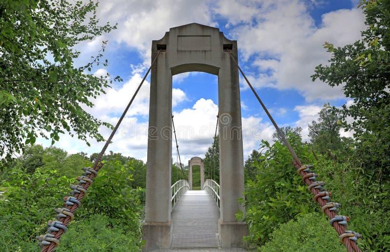 Forest Park en St. Louis, Missouri fotografía de archivo libre de regalías
