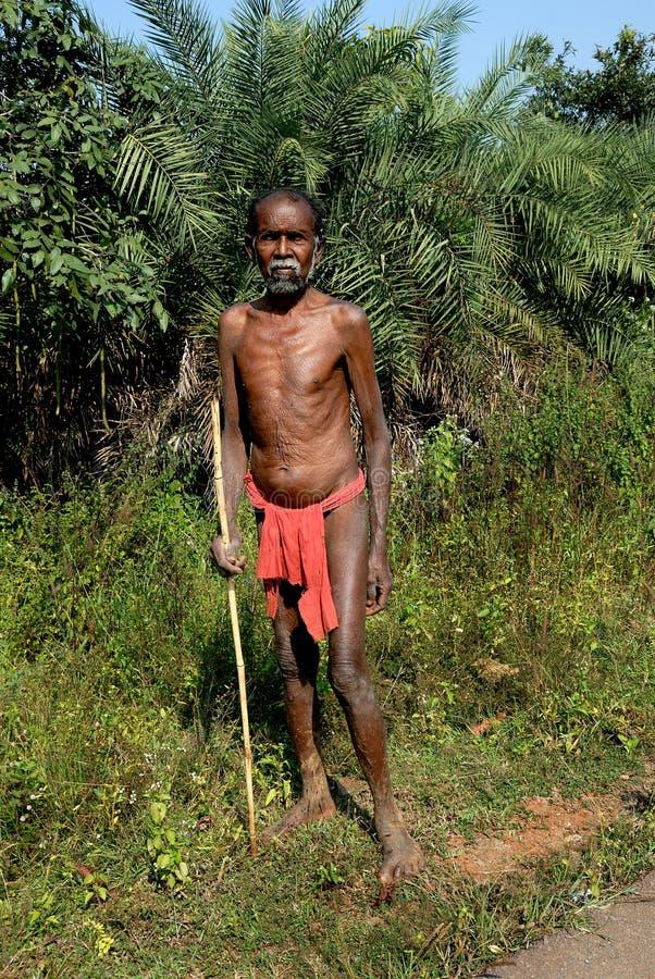 Forest People-Bastar royalty-vrije stock afbeelding
