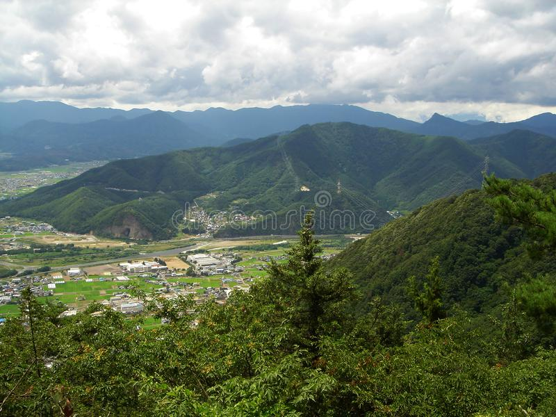 Mountainnagano royalty free stock images