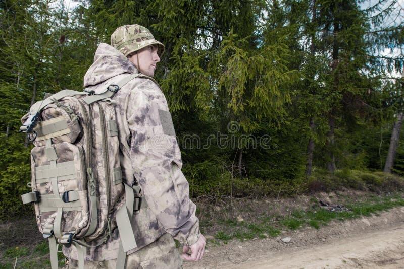 Forest Ranger au travail photos stock