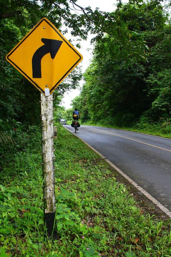 Forest Road, Thailand lizenzfreies stockbild