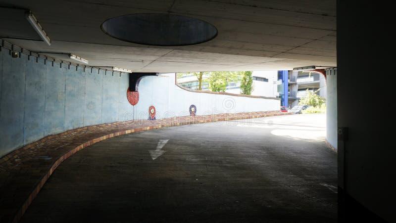 Forest Spiral Hundertwasser Architecture, Darmstadt, Deutschland lizenzfreie stockbilder