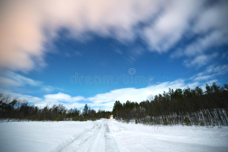 Download Forest with Star stock image. Image of star, snow, kiruna - 28909163