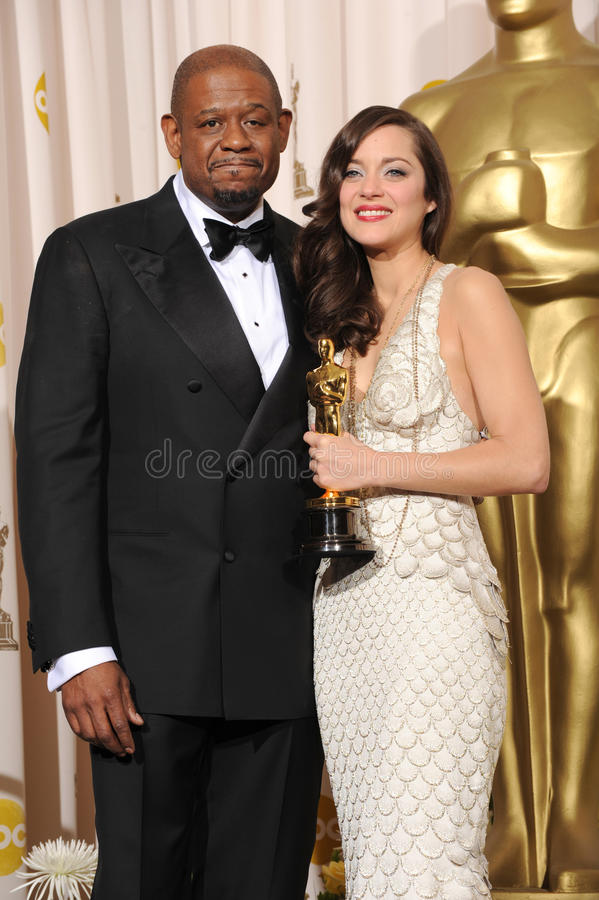 Download Forest Whitaker, Marion Cotillard Editorial Stock Image - Image: 23944979