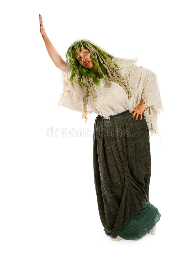 Forest witch royalty free stock photos
