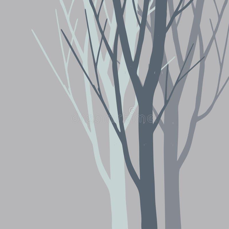 Foresta royalty illustrazione gratis