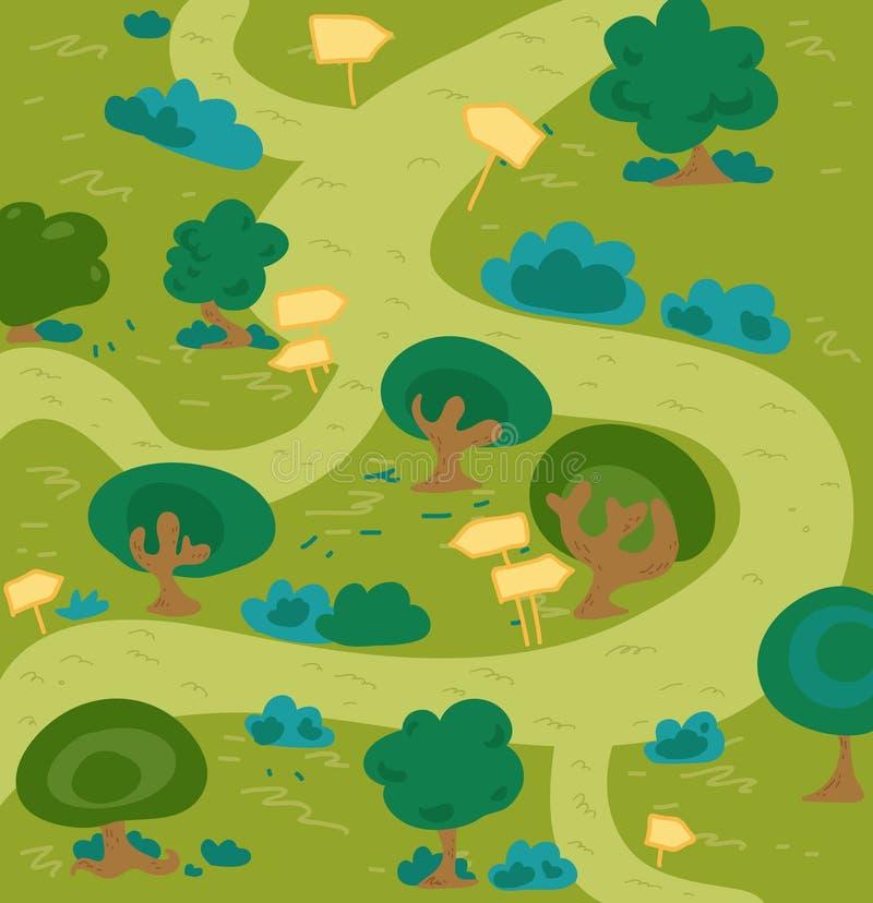 Foresta Del Labirinto Immagine Stock Libera da Diritti