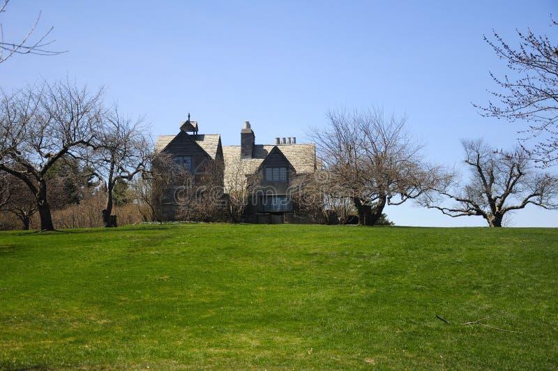 Foresta dello stato di Topsmead del cottage di estate immagine stock