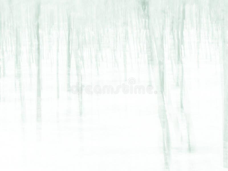 Foresta - fondo confuso impressionista astratto immagini stock