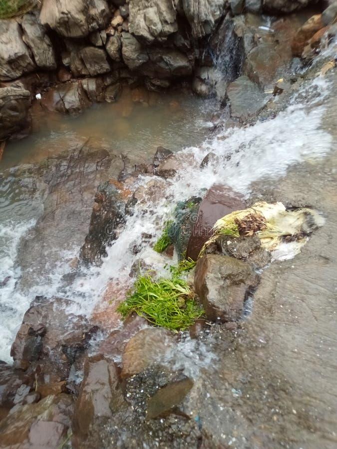 Foresthill skog, kulle, flod, MountainView, berg, vattenfall, vatten, arkivfoto
