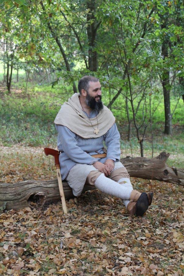 Forestier anglo-saxon images libres de droits