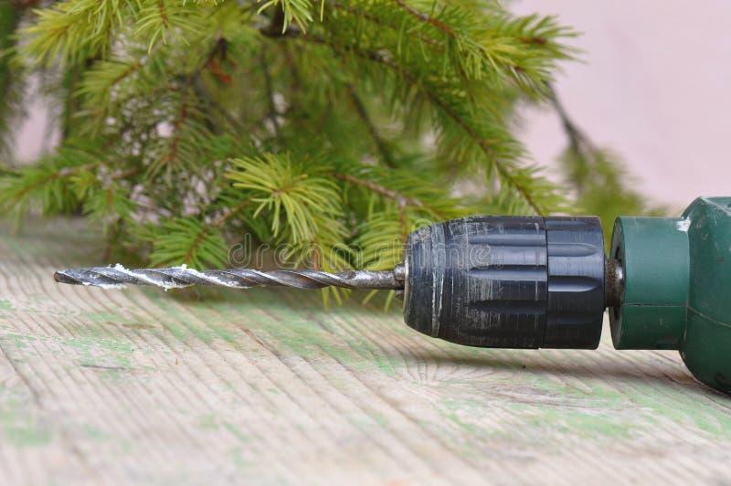 Foret utilisé photo stock