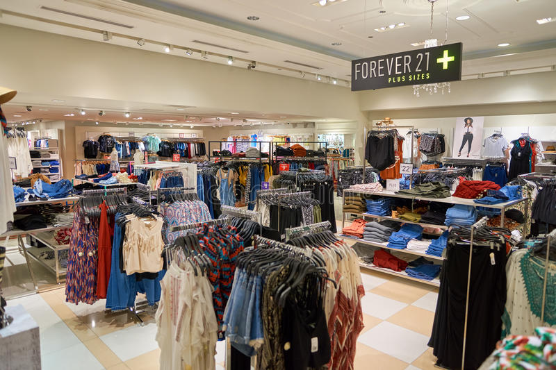 Forever 21 store stock photo