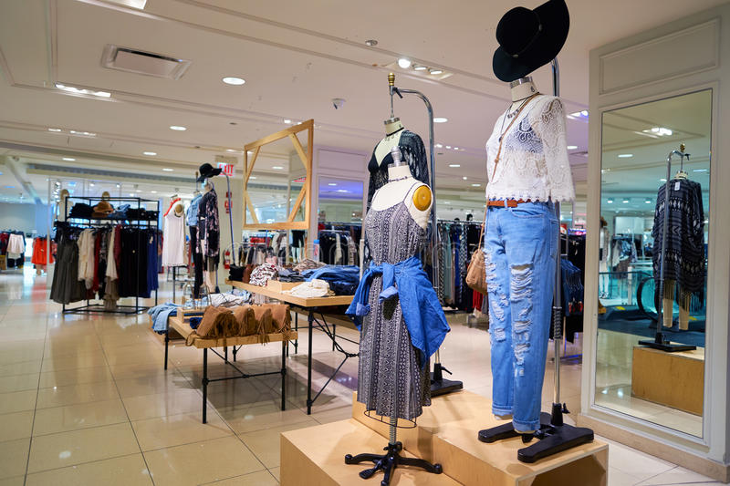 Forever 21 store royalty free stock photos