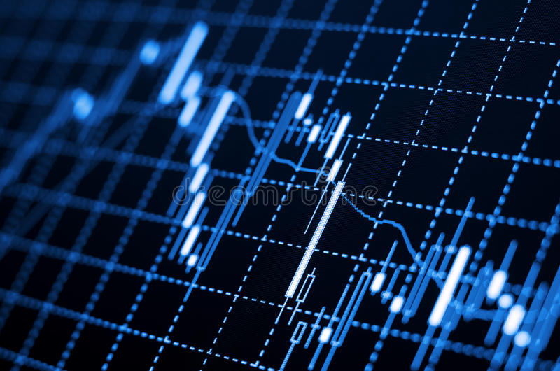 Forex charts royalty free stock images