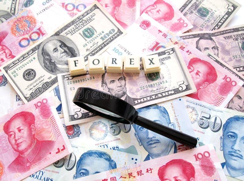 Forex concept royalty-vrije stock foto's