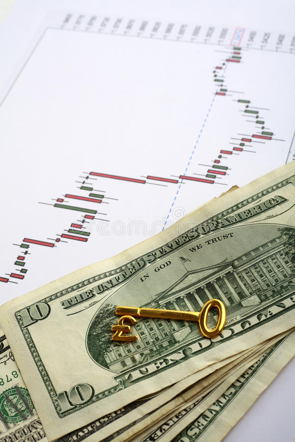 Download Forex Key To Trading Wealth Stock Photo - Image of dollars, gold: 13133112