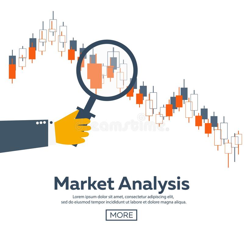 Forex market, trading. Forex club. Online trading. Technologies in business and trading. Artificial intelligence. Equity market. stock illustration