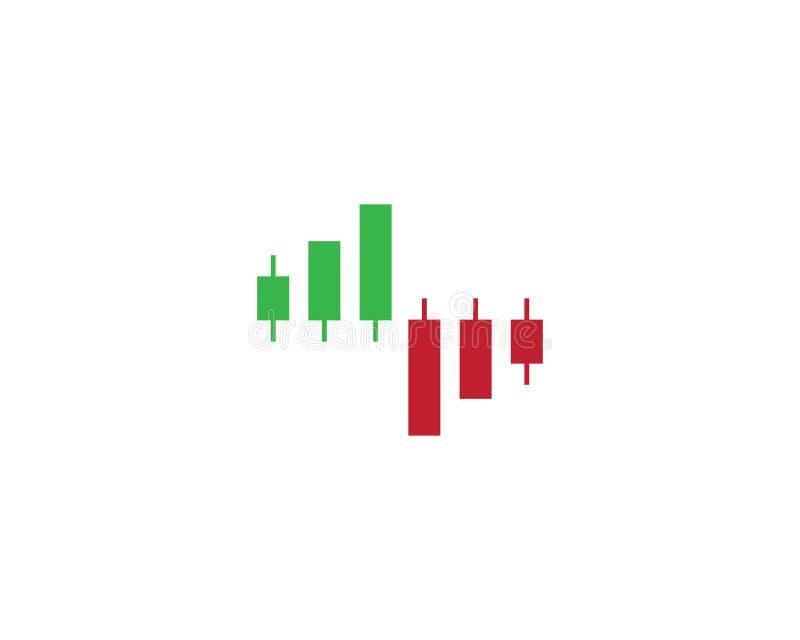 Forex marktvector royalty-vrije illustratie