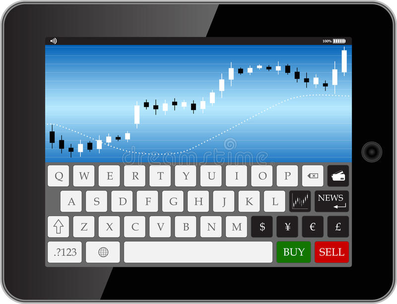 Download Forex tab stock vector. Image of analyzing, vector, money - 34627618