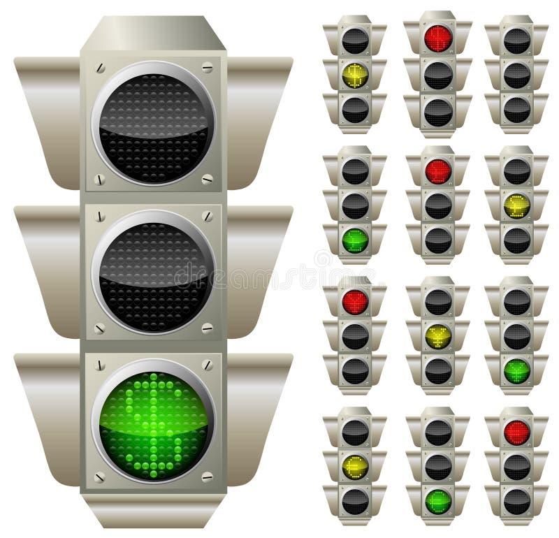 Forextrafik stock illustrationer