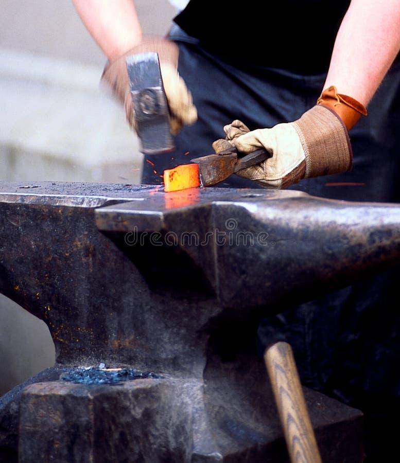 Download Forge man stock image. Image of anvil, handicraft, hammer - 2694665
