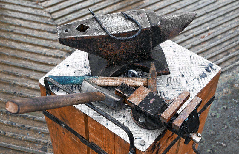 Forge Tools Stock Images
