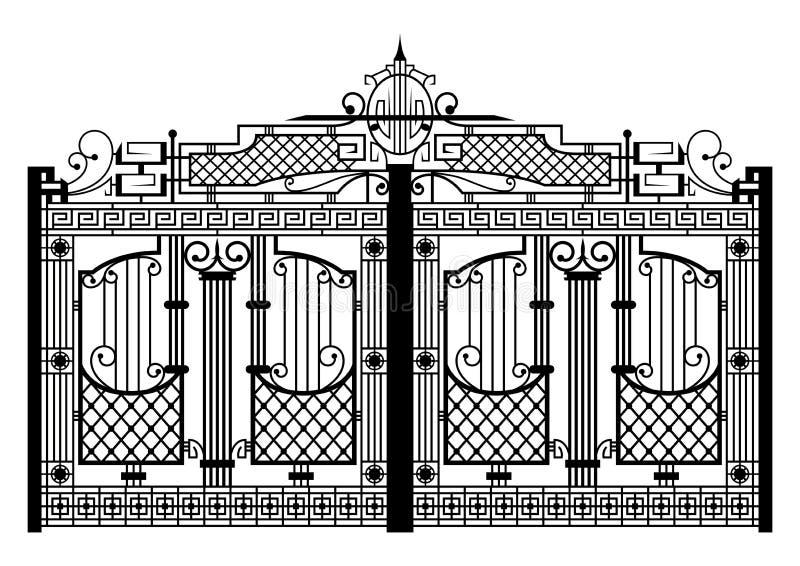 forged brama ilustracja wektor