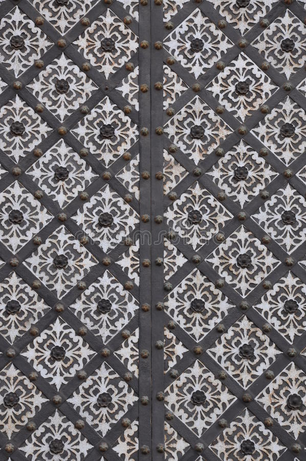 Download Forged steel gate stock photo. Image of ornate, iron - 27256534