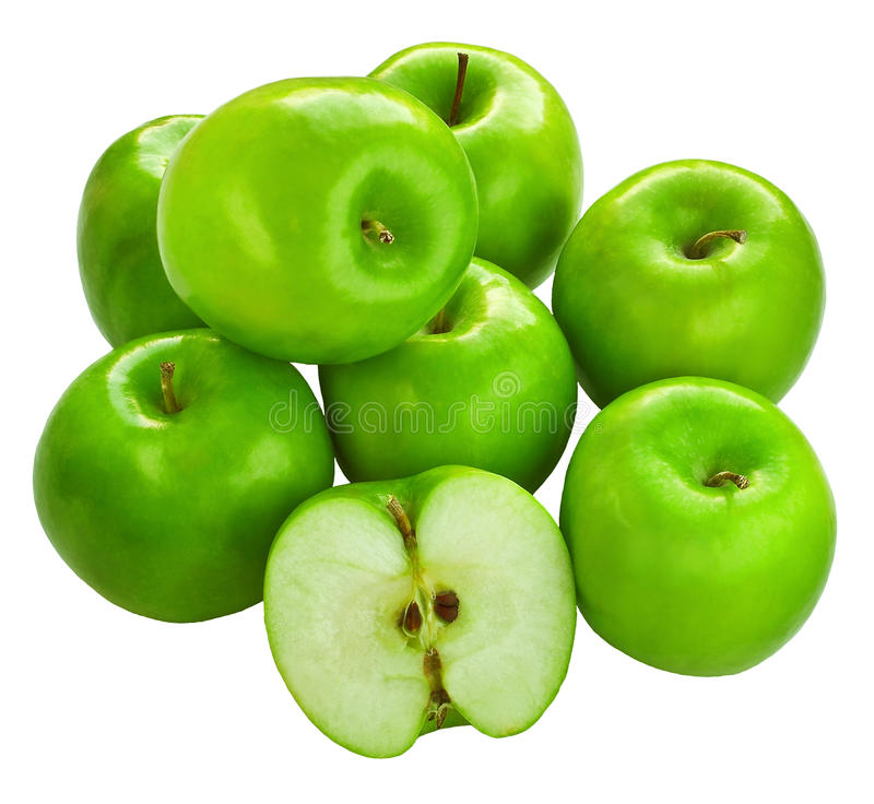 forgeron de mémé frais de pommes image libre de droits