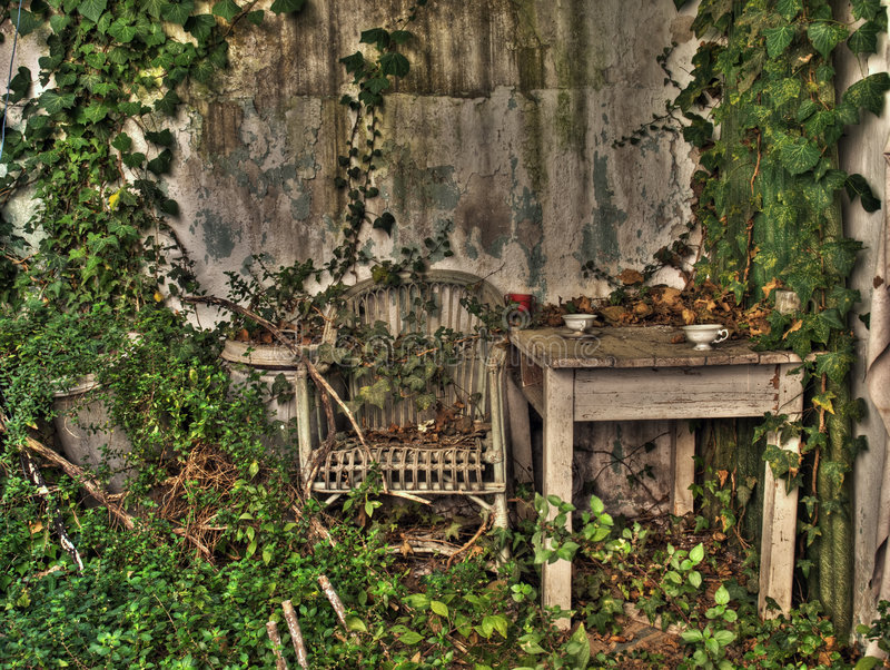 Download Forgotten porch stock image. Image of chair, nobody, grass - 6587557