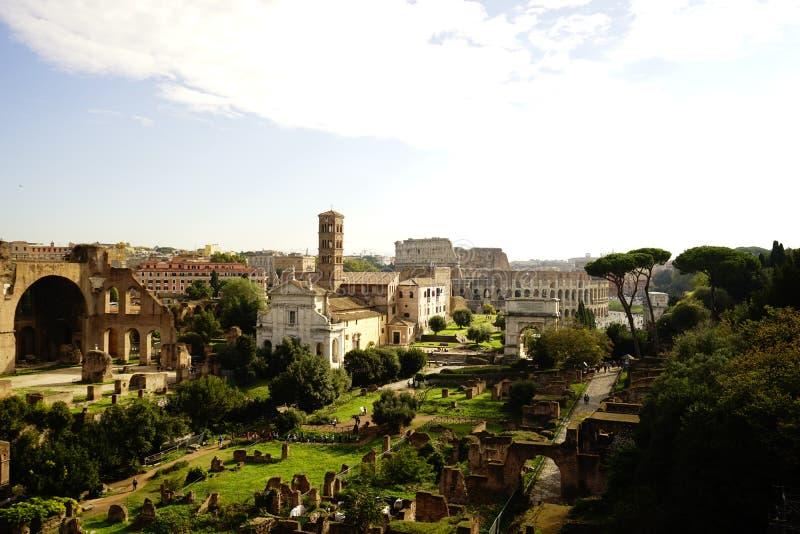 Fori Imperiali, Rome royalty-vrije stock afbeelding