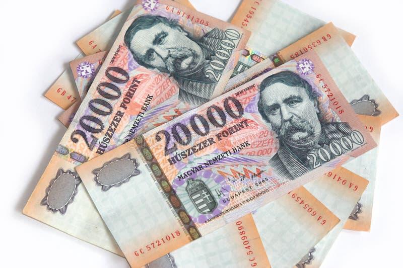 Forint hongroise image libre de droits