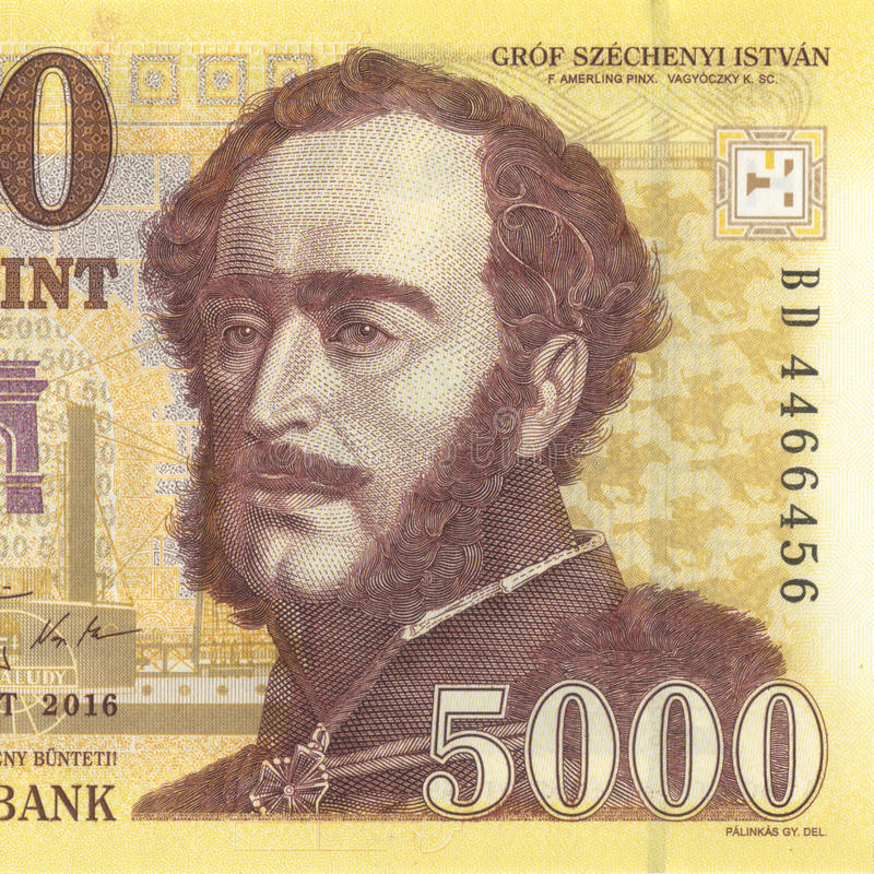 Forint hongroise photo stock