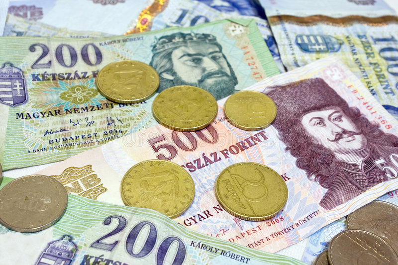 Forints royalty free stock photo