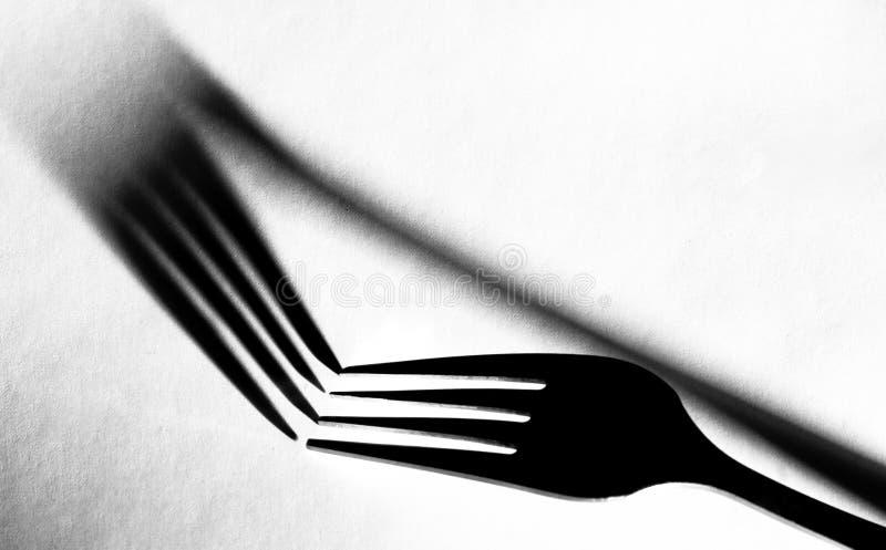 Fork stock photos