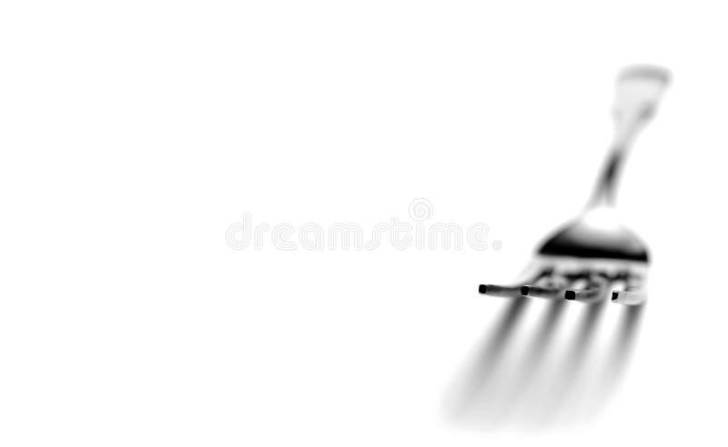 Download Fork stock image. Image of shape, black, huge, ware, fork - 27679935