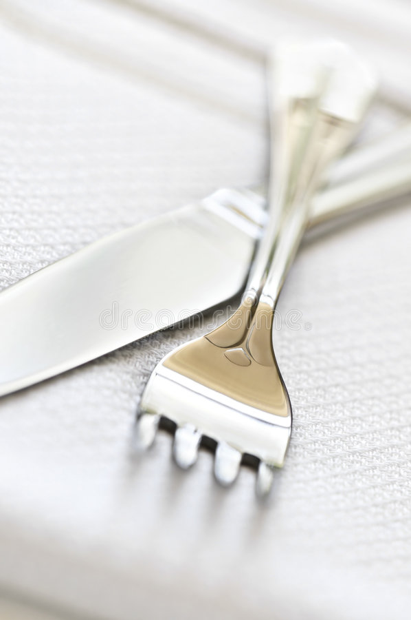 Free Fork And Knife Stock Photography - 6991542