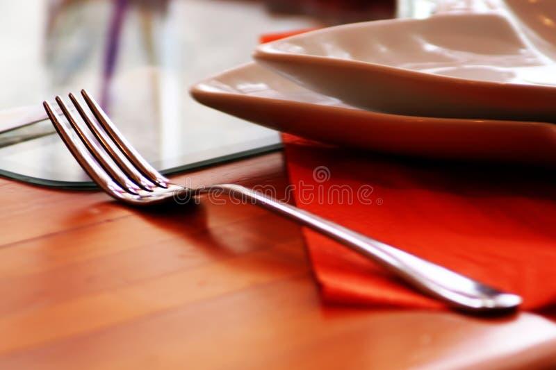 Fork en el vector fotografía de archivo libre de regalías