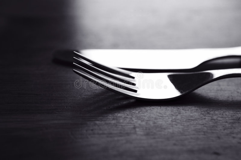 Fork and Knife stock photos