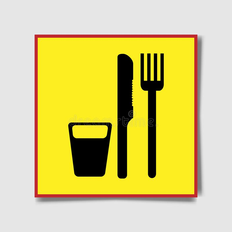 Fork, knife icons. Cutlery symbol. Chat speech bubble, chart and presentation signs. Contacts and tick web icons. Vector stock illustration
