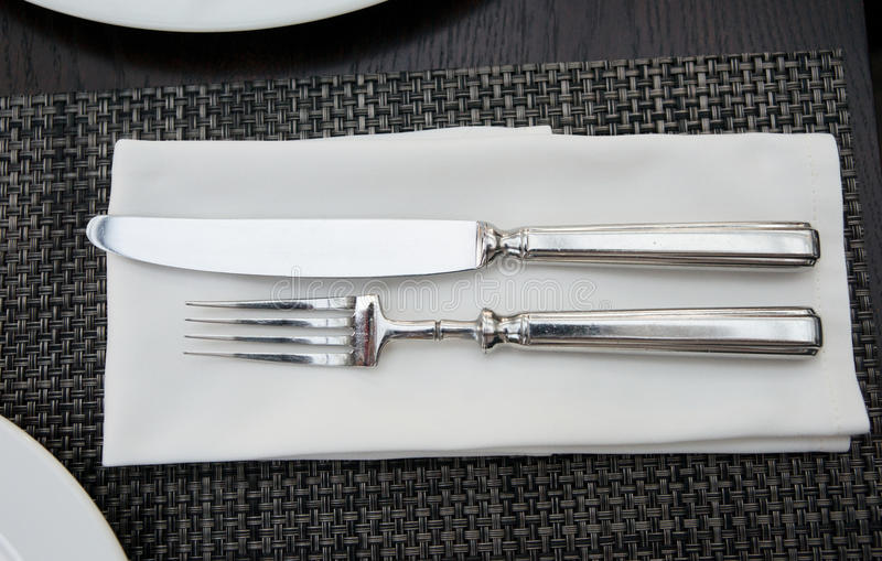 Download Fork, Knife And Napkin Stock Image - Image: 23420171