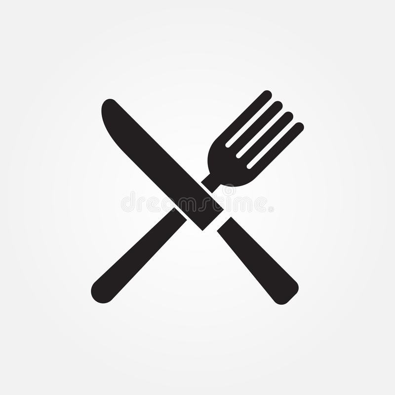 Free Fork Knife Vector Icon Illustration Graphic Design. Stock Images - 92695504