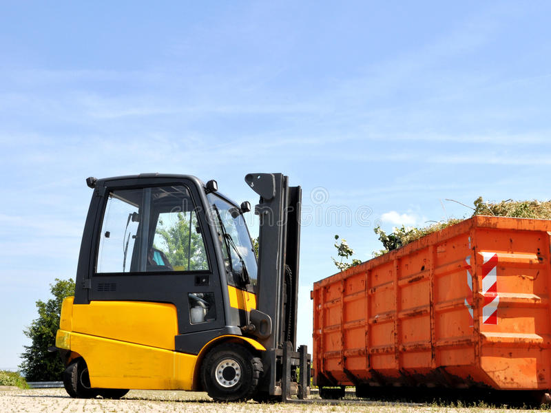 Fork Lift royalty free stock images