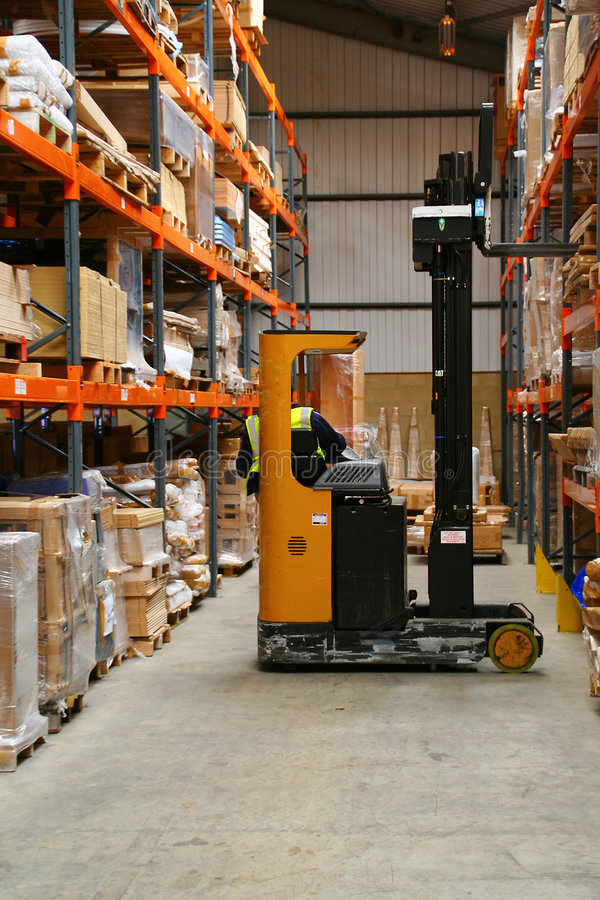 Free Fork Lift Truck Royalty Free Stock Photos - 5267508