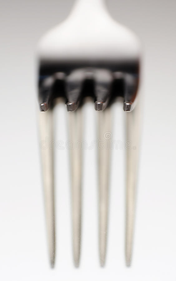 Fork macro royalty free stock photos