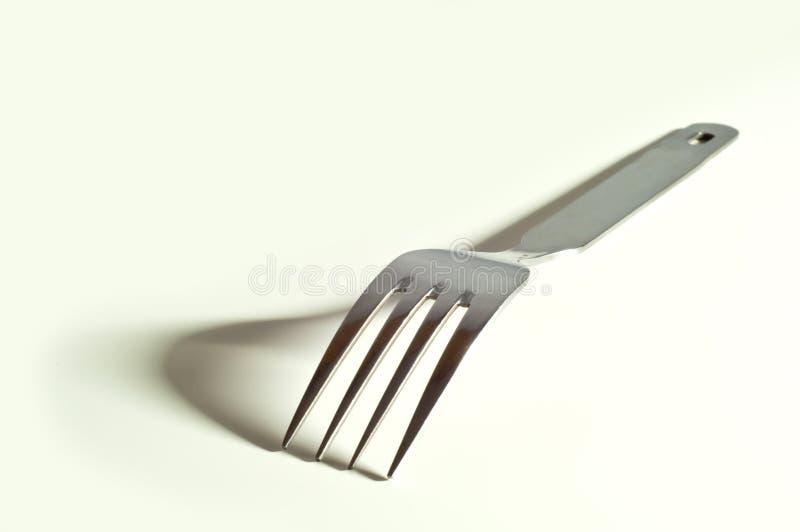 Fork metálica fotos de archivo libres de regalías