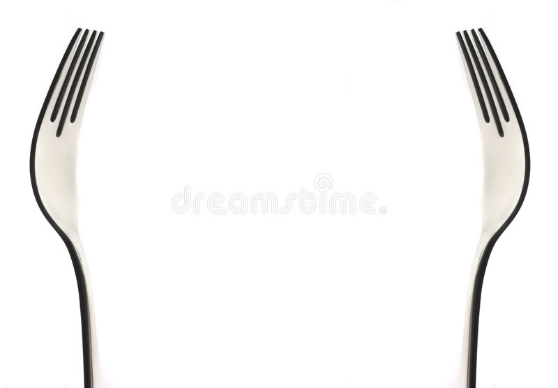 Fork´s royalty free stock photos