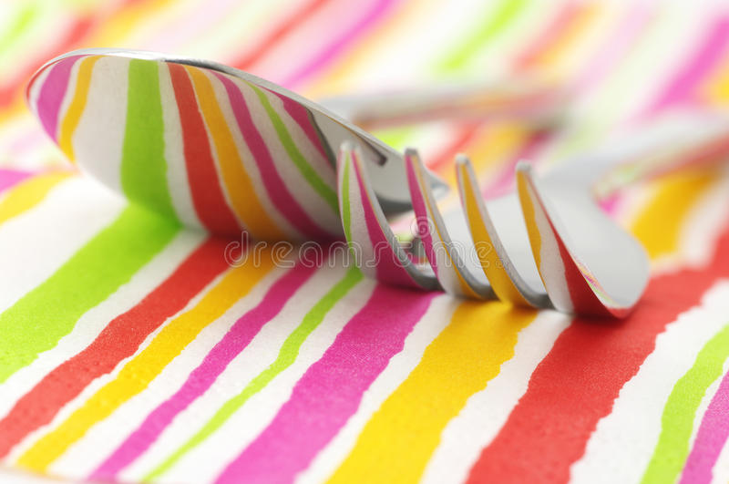 Download Fork and spoon close-up stock photo. Image of abstract - 14115970